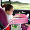 AutoYouth Waterproof Table Car Seat Tray Storage Kids Toys Holder - PINK