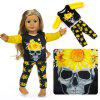 43cm 18 inch Halloween Christmas Toy Doll Clothes Set - YELLOW