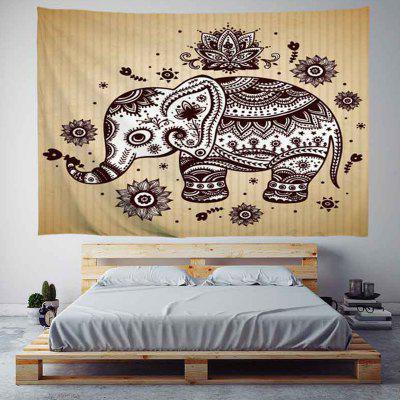 Elephant Digital Print Tapestry