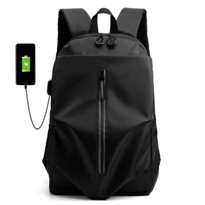 YAJIANMEI Oxford Spinning Backpack USB Charging Business Men Large Capacity Travel Bag