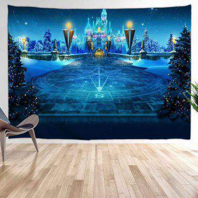 Castle Party Digital Print Tapestry