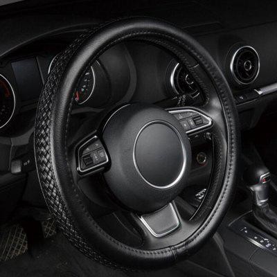 AutoYouth PU Leather Steering Wheel Cover