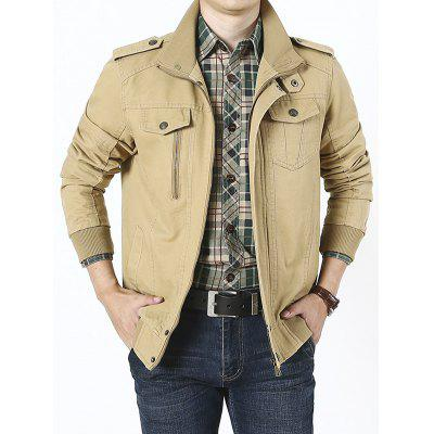 Men's Autumn Winter Lapel Loose Large Size Thin Jacket