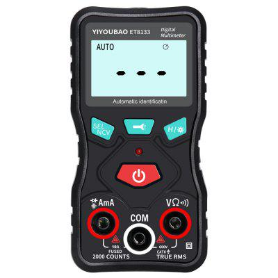 ET8133 Fully Automatic Identification Multimeter