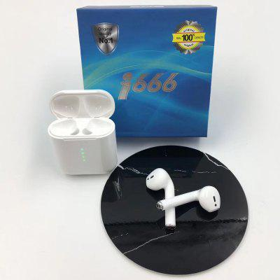 I666 Wireless Charging Bluetooth 5.0 Earphone Stereo Earbud