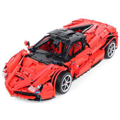 XQ MOC - 10559 1: 8 2.4G RC Racing Car DIY 3260ks Building Blocks
