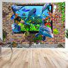 Dolphin Digital Print Tapestry - MULTI-A
