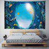 Seabed Cave Digital Printing Tapestry - MULTI-A