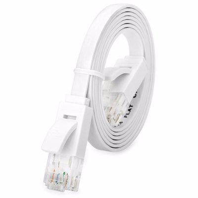 Câble de Réseau Plat RJ45 Universel de Chat 6 LAN Ethernet Super Long