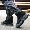 Men's Comfortable Foot Protects Large Size Boots - BLACK