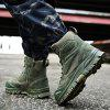 Men's Comfortable Foot Protects Large Size Boots - ARMY GREEN