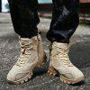Men's Comfortable Foot Protects Large Size Boots - BEIGE