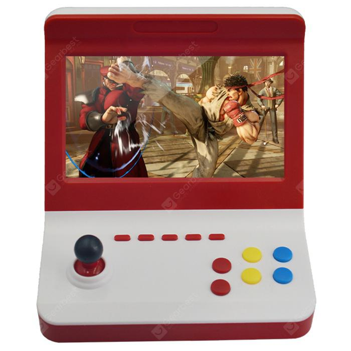 Ragebee 7 inch 3500 Gaming Family Game Console - Red