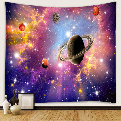 Abstract Style Beautiful Planet Pattern Print Tapestry