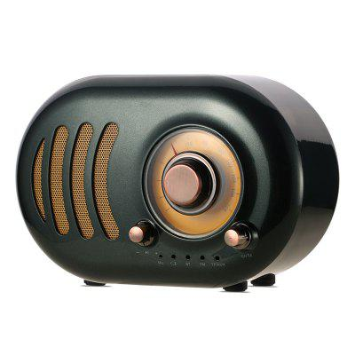 REMAX RB - Mini altavoz inalámbrico Bluetooth retro M31