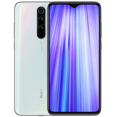 Gearbest Xiaomi Redmi Note 8 Pro 4G Phablet 8GB RAM 128GB ROM - White 6.53 inch MIUI 10 Helio G90T Octa Core 2.05GHz + 2.0GHz 64.0MP + 8.0MP + 2.0MP + 2.0MP Rear Camera 4500mAh Battery