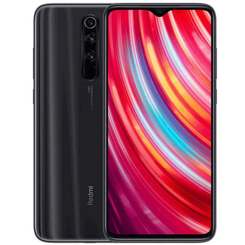 Gearbest Xiaomi Redmi Note 8 Pro 4G Phablet 6GB RAM 128GB ROM - Gray 6.53 inch MIUI 10 Helio G90T Octa Core 2.05GHz + 2.0GHz 64.0MP + 8.0MP + 2.0MP + 2.0MP Rear Camera 4500mAh Battery