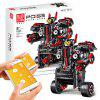 Mould King 13028 DIY Intelligent Programmable Robot Remote Control Building Blocks Toy - BLACK