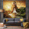 Fantasy Wonderland with Waterfall Digital Print Tapestry - MULTI-A