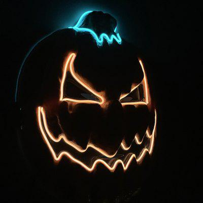 Halloween LED Mask Creative Pumpkin Modelling