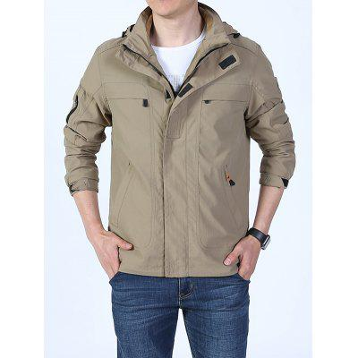 Men's Outdoor Sports Fashion Jacket with Zipper