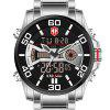 KADEMAN K6171G Man's Multi-fonction Outdoor Waterproof Watch Big Dial - MULTI-F