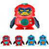 1902 Face Voice Changing Robot Puzzle Parent-child Interactive Recording Machine Doll Toy Gift - RED