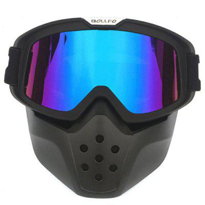 Retro Outdoors Mask Dustproof Windproof Off-road Motorcycle Protective Safety Goggles