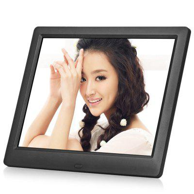 Bilikay 8006 8.7 inch IPS Screen Video Digital Photo Frame Day Clock