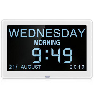 Bilikay 8001 8 polegadas IPS Screen Vídeo Digital Photo Frame Day Clock