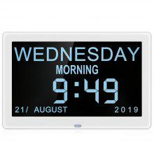 Bilikay 8001 8 pulgadas IPS Pantalla Video Digital Photo Frame Day Clock