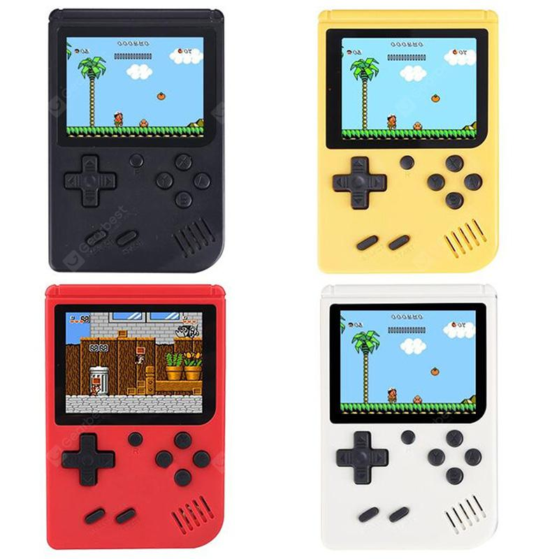 Ragebee 500IN1 3.0 Inch TFT Display 2 Player Handheld Game Console - Red - 11.41€