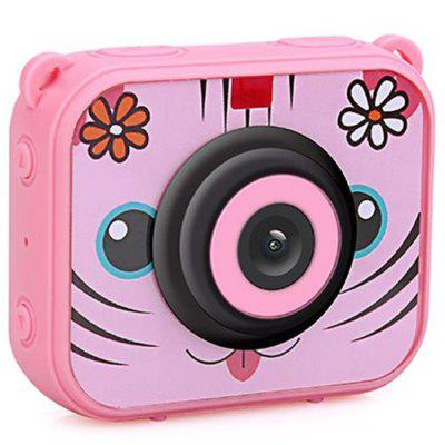 AT - j20 Waterproof Mini Children Kids Digital Camera with Video Recorder