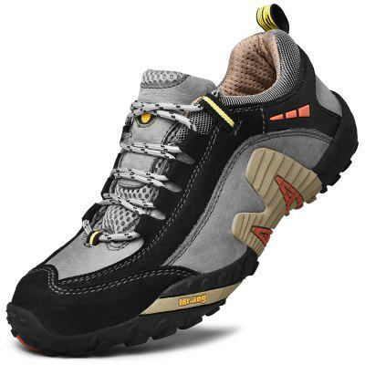AILADUN Men's Shoes Low Cut Outdoor Sports Walking Shoes Large Size