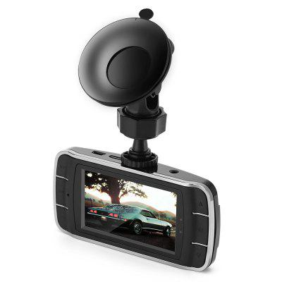 gocomma 2.7 inch Display 1080P Dash Cam Car DVR Recorder with Infrared Night Vision - Black