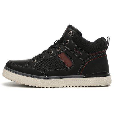 TANTU Men's High-top Casual Shoes Outdoor Using