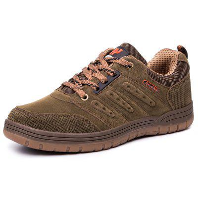AILADUN Men's Shoes Low Cut Outdoor Sports Shoes Lace-up