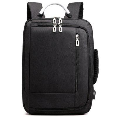 LS430 Male Korean Style USB Backpack Computer Bag