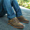 AILADUN Men's Shoes Low Cut Outdoor Sports Shoes Lace-up - BROWN