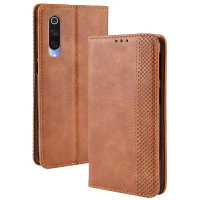 Luanke Retro Leather Full Protection Mobile Phone Case for Xiaomi CC9 / A3 Lite