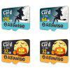 Alfawise Limited Edition Halloween High Speed ​​2 In 1 64GB Micro SD Card Pack - MULTI