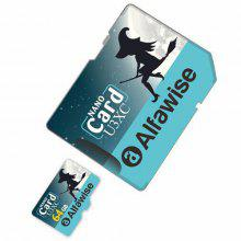 Gearbest Alfawise Limited Edition Halloween High Speed ​​2 In 1 64GB Micro SD Card Pack