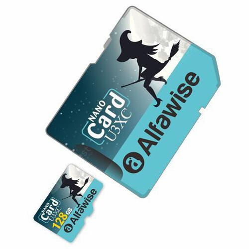 Alfawise Limited Edition Halloween High Speed ??2 In 1 64GB Micro SD Card Pack - Multi 64GB U3XC