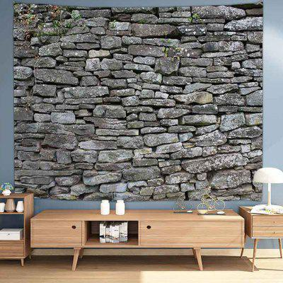 Stone Wall Digital Print Background Tapestry