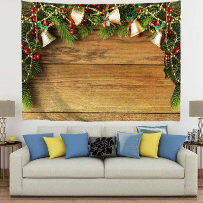 Christmas Beautiful Bell Arch Digital Print Tapestry