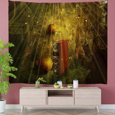 Quiet Mysterious Magic Book Digital Print Tapestry