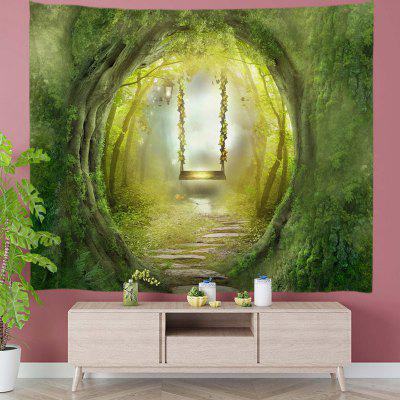 Beautiful Tree Hole Small Swing Tapestry