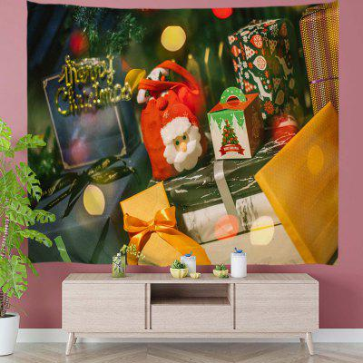 Big Pile of Christmas Gift Digital Print Tapestry