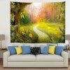 Road Secluded Woods Digital Printed Tapestry - MULTI-A