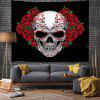 Halloween Rose Digital Print Tapestry - MULTI-A